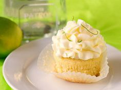 rehearsal dinner cupcake ideas | Patron Margarita Alcohol Infused Cupcakes