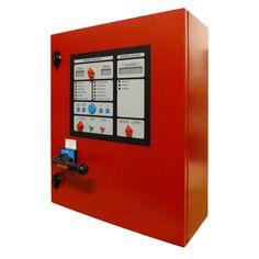 Cuadro eléctrico contra incendios para bomba principal + bomba jockey con motor eléctrico. www.ceymacym.com
