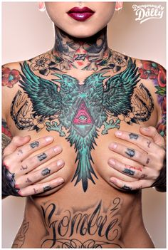 Chest Piece by artraged.deviantart.com  Dangerously sexy