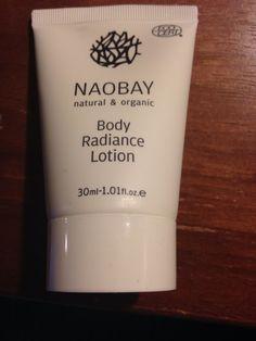 Naobay body radiance lotion 1.01 fl oz never used