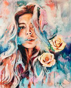 Dimitra Milan - Herz - zeichnen - Art World Dimitra Milan, Frida Art, Arte Sketchbook, Beauty Illustration, Portrait Art, Art Inspo, Art Girl, Painting & Drawing, Amazing Art