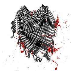 Behind the keffiyeh"