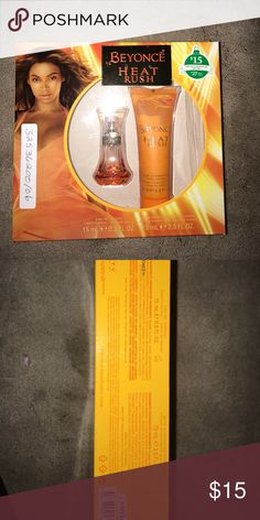 Beyoncé Heat Rush Gift Set Beyoncé Heat Rush Women's Perfume and body cream Other