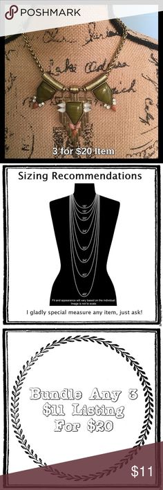 """⛄️ Green Egyptian Statement Necklace Price is firm unless bundled. Comes in boutique packaging and box. 16"""" long with 3"""" extender clasp. Jewelry Necklaces"""