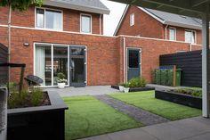 Garden Design Layout - New ideas Modern Backyard, Home And Garden, Outdoor Decor, New Homes, Outdoor Living, Garden Planning, Garden Design, Home Garden Design, Modern Backyard Landscaping