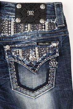 Metal Babe Boot Cut #MissMeJeans