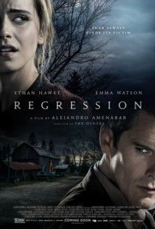 Take a look to this new international poster of Regression, the upcoming thriller movie starring Ethan Hawke and Emma Watson: Scary Movies, Hd Movies, Horror Movies, Movies Online, Movies And Tv Shows, 2015 Movies, Movies Free, Horror Film, Films Netflix