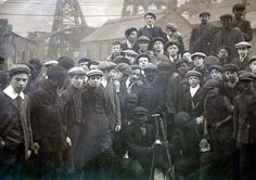 Labor - Child and young coal miners in the Rhondda district of Glamorganshire, Wales.