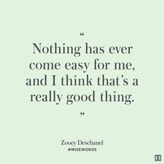 #wisewords from @zooeydeschanel #Quote by ivankatrump