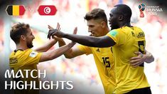 10618a9fa Belgium v Tunisia - 2018 FIFA World Cup Russia™ - Match 29