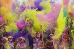 The Color Run epic finish!