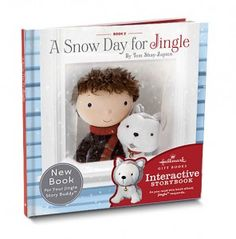 A Snow Day for Jingle - $9.95. Holiday gift idea from Hallmark: Storybooks that bring story time to life! #Hallmark2012Holiday