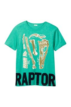 Short Sleeve Raptor Graphic Tee  (Toddler, Little Boys, & Big Boys)