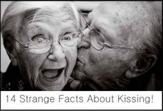 Mmmm.... My last kid can wait a little more before learning these facts. lol 14 Strange Facts About Kissing!