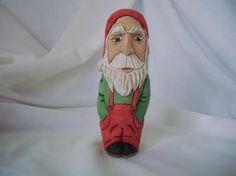 Santa in Flannel Bib's