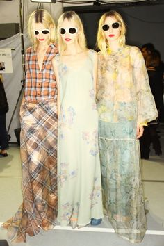 △ paris fashion week backstage: dries van noten