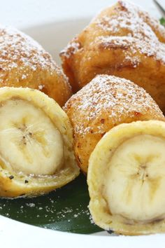 Fried Cinnamon, Sugar, and Nutmeg Banana Fritters Recipe