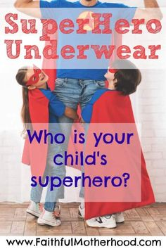 Who are your child's superheroes? Deep down their parents are their heroes. How can we live up to that calling? Parenting Toddlers, Parenting Styles, Christian Parenting, Christian Marriage, Family Bible Study, Raising Godly Children, Christian Kids, Parent Resources, Cartoon Characters