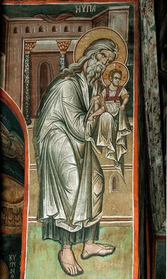 St. Simeon  Whispers of an Immortalist: Icons of Prophets 2