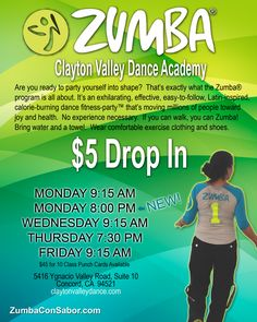 My Zumba Classes.