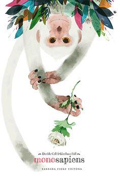 Mono-sapiens Davide Calí y Gianluca Folí Illustration Singe, Digital Illustration, Graphic Illustration, Art Mignon, Monkey Art, Animal Print Wallpaper, Fable, Animal Graphic, Motifs Animal