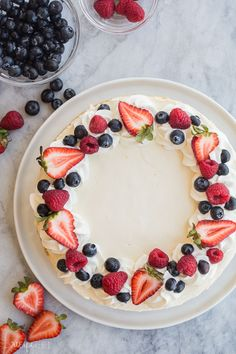 Easy Cheesecake Recipes, Easy Cake Recipes, Summer Cheesecake, Easy Desserts, Delicious Desserts, Dessert Recipes, Yummy Food, Simple Cheesecake, Birthday Cheesecake