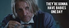 What Haymitch was really thinking.