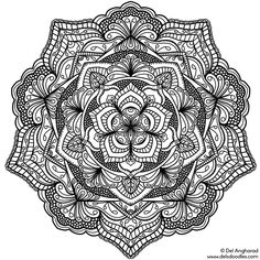 <p>Had a bit of a break to catch up with my videogaming – but I can't stay away for long  Here's a new mandala! (Click to download the full size file)</p>