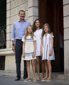 The Royal Family of Spain Is Giving William & Kate Some Style Competition