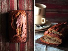 Banana Rum Bread - lots of rum, replace whole wheat flour with regular