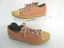 Clarks narrative orange & beige leather lace up shoes Uk 5 38