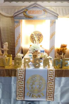 Versace Baby Shower Party Ideas | Photo 2 of 8
