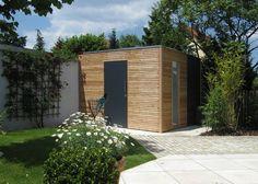 Gartenhäuser - Stahl für den Garten und das Heim
