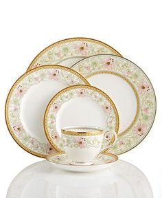 Noritake Dinnerware, Blooming Splendor Collection - Fine China - Dining & Entertaining - Macy's