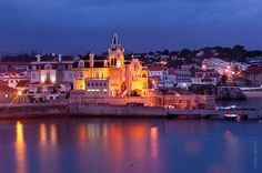Cascais, Portugal Such beautiful colors it adds to the city