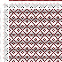 Hand Weaving Draft: Page 49, Figure 3, Bindungs-Lexikon für Schaftweberei, Franz Donat, 4S, 4T - Handweaving.net Hand Weaving and Draft Arch...