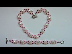 DIY Elegant Beads Bracelet and Necklace. - YouTube