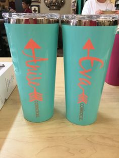 A Personal Favorite From My Etsy Shop Httpswwwetsycomlisting - Vinyl letters for cups