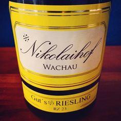 #Nikolaihof, Gut's #Riesling #Wachau #Demeter #weinerleben