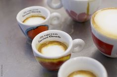 Illy espresso cups