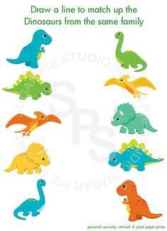 Triceratops dinosaurio o cualquier tema regalito actividad personalizada imprimible hoja archivo Digital imprimible DIY