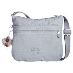 BuyKipling Arto Cross Body Bag, Grey Online at johnlewis.com