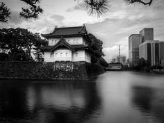 The Tokyo Imperial Palace.