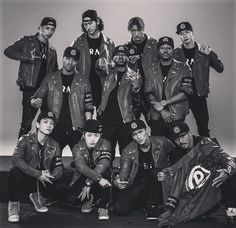 "Japanese Krump team  ""Rag pound"""