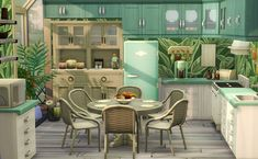 the tropical kitchen - decoration house games,decoration house,decoration house near me