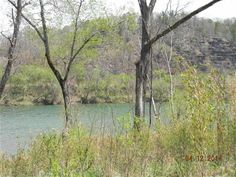 Beautiful River lot in Norfork, AR.