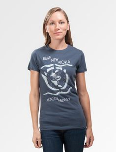 Brave New World | Women's Tees – Out of Print $28.00