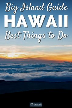 15 of the best things to do on Big Island Hawaii. The Big Island of Hawaii not only lives up to its name in size but also in adventure. There are just so many places to see and adventures to be had, you can see why it makes for an epic road trip. | The Planet D | #BigIsland #Hawaii #HawaiiTrip | Big Island Hawaii Things to Do | Big Island Itinerary Hawaii Volcanoes National Park, Volcano National Park, Hawaii Vacation, Beach Trip, Beach Travel, Hawaii Travel Guide, Travel Tips, Places To Travel, Places To See