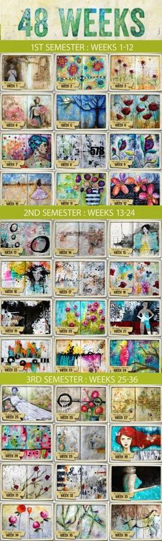 Art Journal Ideas by eileen
