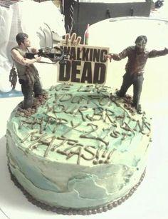 great Walking Dead cake!
